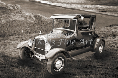 Classic Car Wall Art 1927 Ford Coupe 4035.02