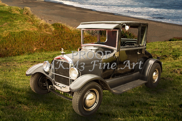 1927 Ford Coupe Classic Car Wall Art 4034.02