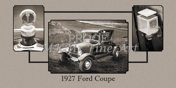 Wall Art Od Car1927 Ford Coupe 4033.02