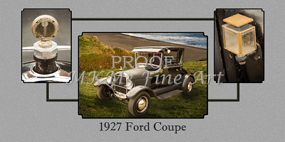 1927 Ford Coupe Old Car Wall Art 4032.02