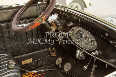 Inside 1927 Ford Coupe Vintage Car 4048.02