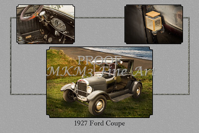 1927 Ford Coupe Classic Car 4030.02