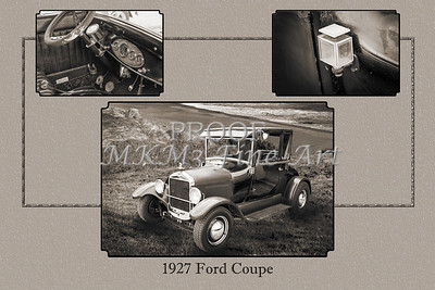 Classic Car 1927 Ford Coupe 4031.02