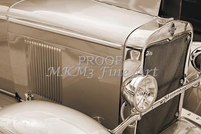 Front Fender 1929 Chevrolet Classic Car 3127.01