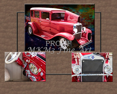 Collage 1929 Chevrolet Classic Car 3557.02