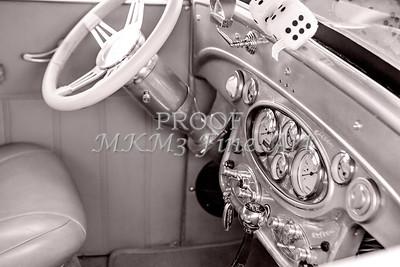 1929 Chevrolet Classic Car Dashboard 3130.01