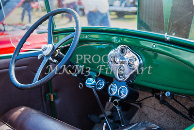 Interior of a 1929 Ford Classic Car 3057.02