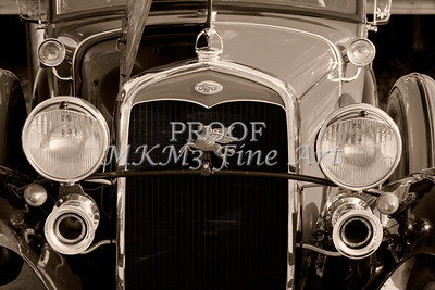 Ford 1929  Classic Car Grill 3012.01
