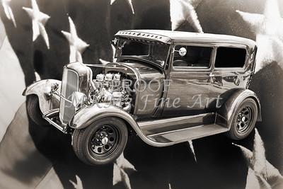 Vintage Car 1929 Ford Model A 5511.53