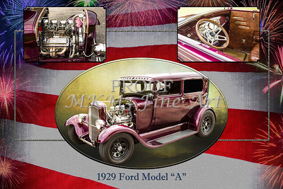 1929 Ford Model A Collage 5511.01