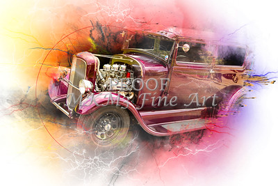 1929 Ford Model A Canvas Print Wall Art 5511.05