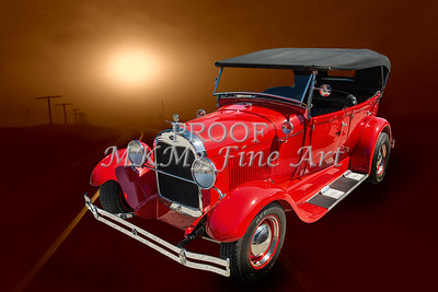 1929 Ford Phaeton Classic Car Wall Art 3502.02