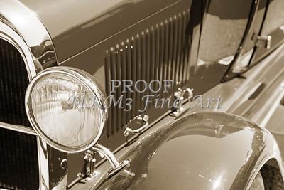 Classic Car Headlight 1929 Ford Phaeton 3508.01