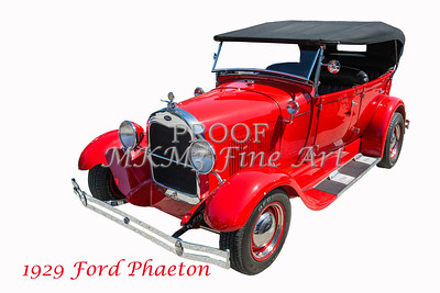 1929 Ford Phaeton Classic Car Photograph 3500.02