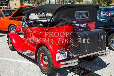 1929 Ford Phaeton Classic Car Back Side 3511.02