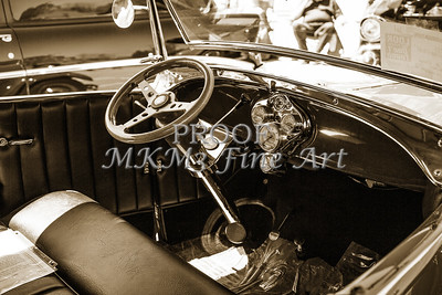 Interior Classic Car 1929 Ford Phaeton 3509.01
