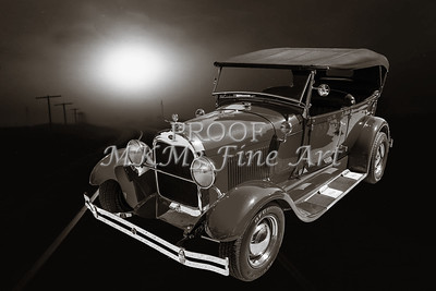 Classic Car Wall Art 1929 Ford Phaeton 3502.01