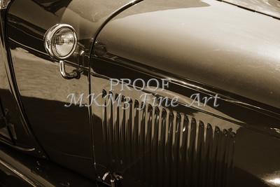 Side Mirror 1929 Ford Phaeton Classic Car 3506.01