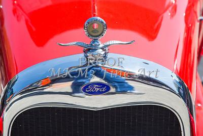 1929 Ford Phaeton Classic Car Emblem 3504.02