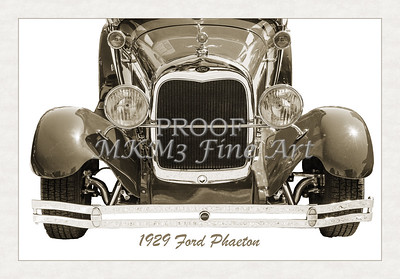 Frontend 1929 Ford Phaeton Classic Car 3501.01