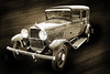 Classic Car Wall Art 1929 Willys Knight 4538.01