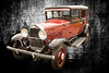 Wall Art 1929 Willys Knight Classic Car 4556.02