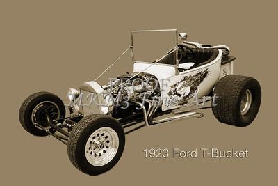 1923 Ford T-Bucket Wall Art Classic Car 5696.01