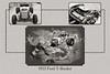 1923 Ford T-Bucket Classic Car Collage 692.01