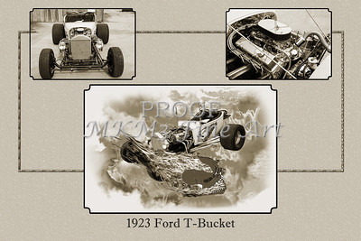 1923 Ford T-Bucket Vintage Classic Car 5691.01