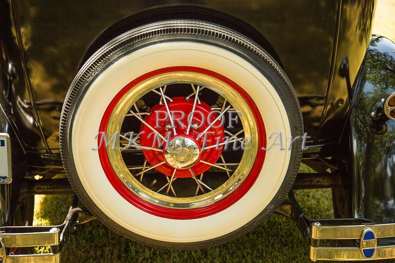 Spare Tire 1930 Ford Model A Sedan 5538,13