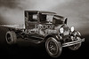 Old Car 1930 Ford Stakebed Truck 5512.51
