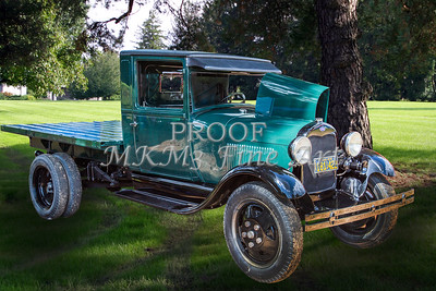 1930 Ford Stakebed Truck Classic Car Art Photographs