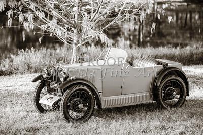 Classic Car 1743.001b Side View 1930 MG