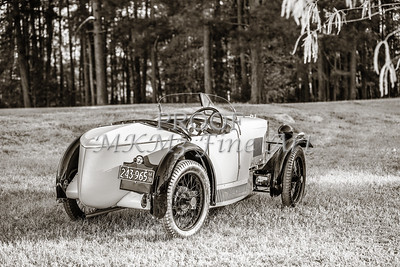 Classic Car 1743.004a Quarter front 1930 MG