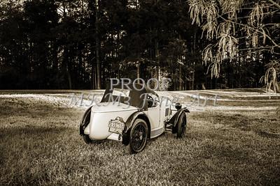 1743.023b Lake Top 1930 MG Antique Car