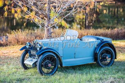 1743.001 Side View 1930 MG