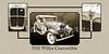 1931 Willys Convertible Car Antique Vintage Automobile Photographs Fine Art Prints 4055.02