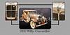 1931 Willys Convertible Car Antique Vintage Automobile Photographs Fine Art Prints 4054.02