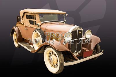 1931 Willys Convertible Car Antique Vintage Automobile Photographs Fine Art Prints Collectables