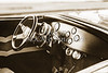 1932 Ford Highboy Street Rod Classic Car automobile Antique Vintage Automobile Photograph Fine Art Print Collectables in Sepia  3108.01