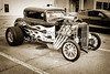 1932 Ford Highboy Street Rod Classic Car automobile Antique Vintage Automobile Photograph Fine Art Print Collectables in Sepia  3104.01