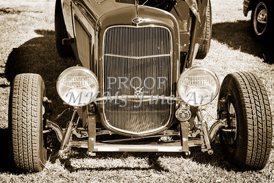 1932 Ford Roadster Street Rod Classic Car automobile Antique Vintage Automobile Photograph Fine Art Print Collectable in Sepia Color  3060.01