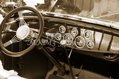 1932 Ford Roadster Street Rod Classic Car automobile Antique Vintage Automobile Photograph Fine Art Print Collectable in Sepia Color 3064.01