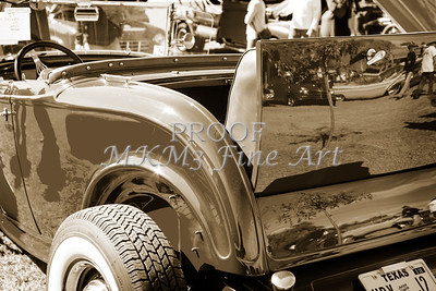 1932 Ford Roadster Street Rod Classic Car automobile Antique Vintage Automobile Photograph Fine Art Print Collectable in Sepia Color 3065.01