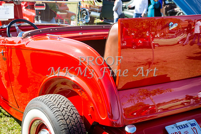 1932 Ford Roadster Street Rod Classic Car automobile Antique Vintage Automobile Photograph Fine Art Print Collectable in Red Color  3065.02