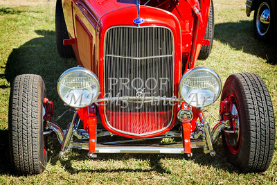 1932 Ford Roadster Street Rod Classic Car automobile Antique Vintage Automobile Photograph Fine Art Print Collectable in Red Color  3060.02