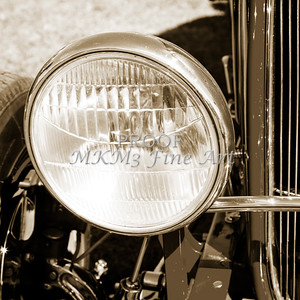1932 Ford Roadster Street Rod Classic Car automobile Antique Vintage Automobile Photograph Fine Art Print Collectable in Sepia Color 3063.01