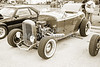 1932 Ford Roadster Sepia Posters and Prints 021.01