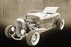 1932 Ford Roadster Sepia Posters and Prints 017.01