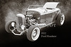 1932 Ford Roadster Sepia Posters and Prints 016.01